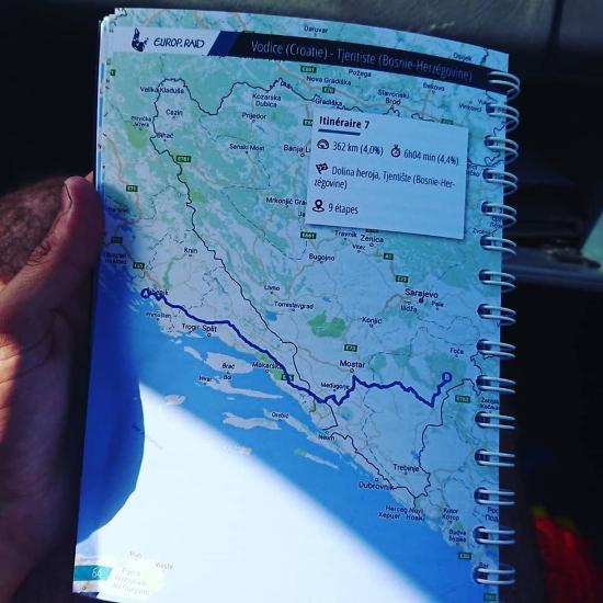 Europ'Raid 2019 - carnet de route - benjamin - vatel bordeaux