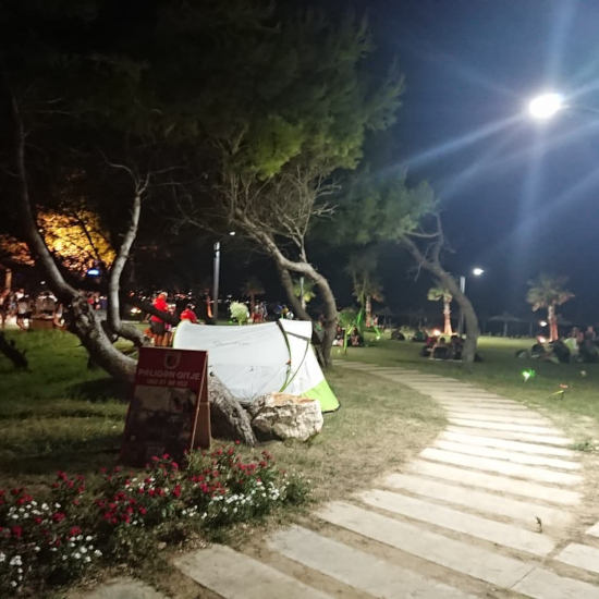 Europ'raid 2019-a night in camp in Albania - benjamin - vatel bordeaux