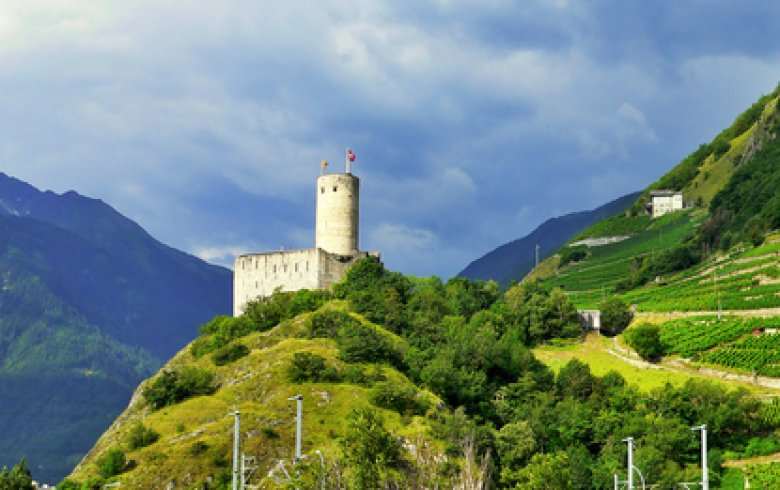 Die Region Wallis - Hotel Vatel Martigny