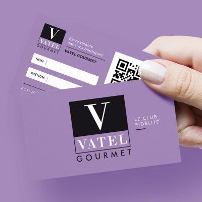 Programme fidélité dans les boutiques VATEL GOURMET