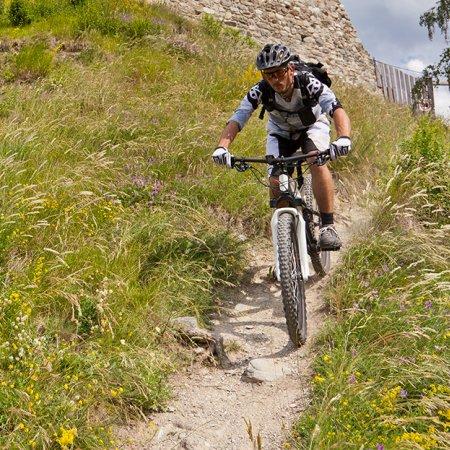 BikePark et pistes de descente - Hotel Vatel Martigny
