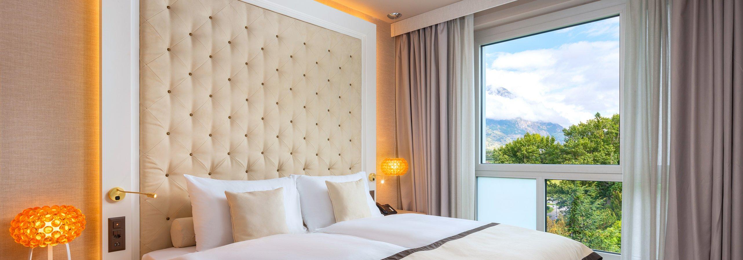 Hotel Vatel Martigny, Chambres et Suites