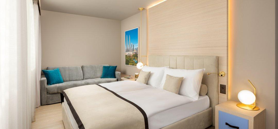 Chambre familiale - Hotel Vatel Martigny