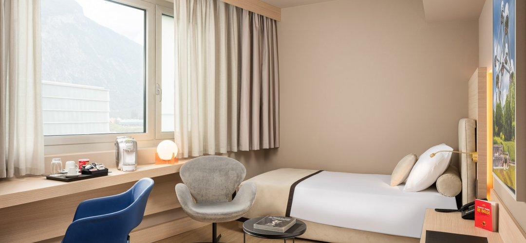 Chambre Simple - Hotel Vatel Martigny