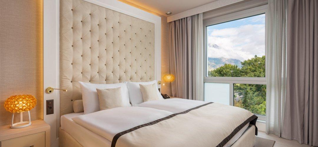 Hotel Vatel Martigny, ZIMMER UND SUITEN