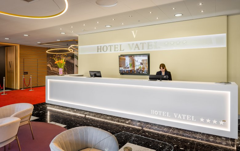 Bar et Lobby - Hotel Vatel Martigny