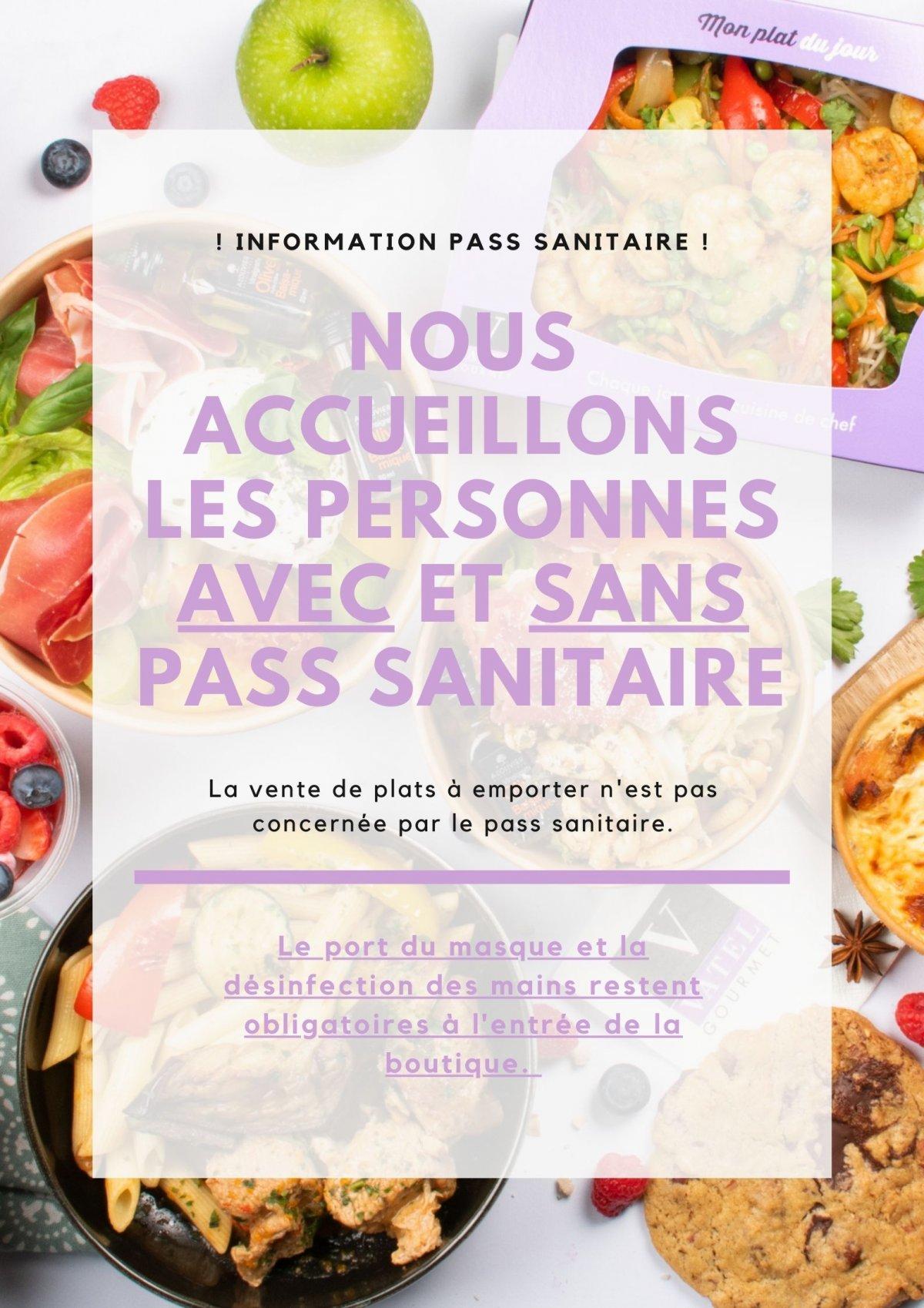 Information Pass Santaire - Vatel Gourmet