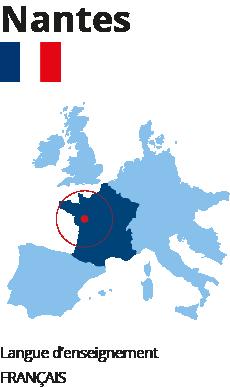 École hôtellerie international Nantes
