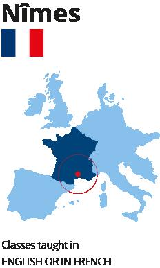 École hôtellerie international Nîmes