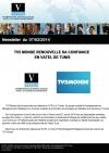 Vatel Tunisie TV5 Monde renouvelle sa confiance en Vatel de Tunis