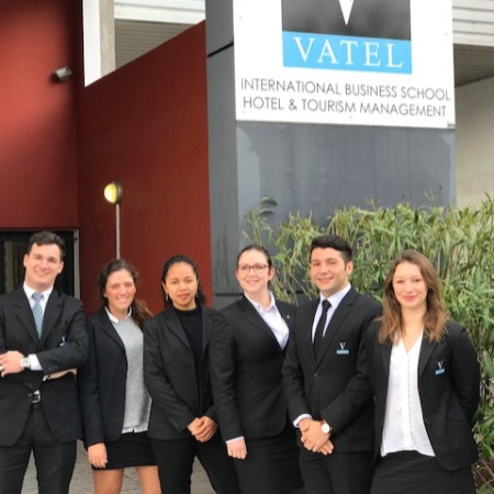 Vatel France Six Vatel students in the Negociales finals