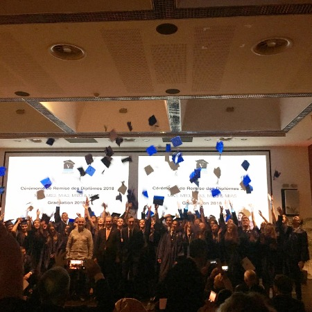 The 6th edition of the Graduation Ceremony with Promotions Ambassador-Jean Troillet