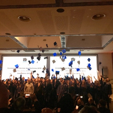 The 6th edition of the Graduation Ceremony with Promotions Ambassador-Jean Troillet  - Vatel
