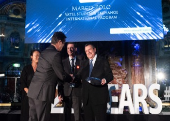 The Marco Polo program wins the Best Innovation in an Educational Program Award from the international hospitality industry