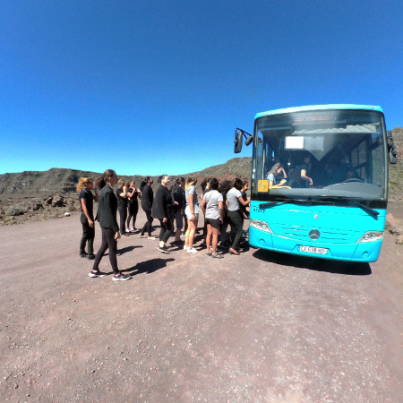 Le campus part en Road trip: Inside Reunion Island