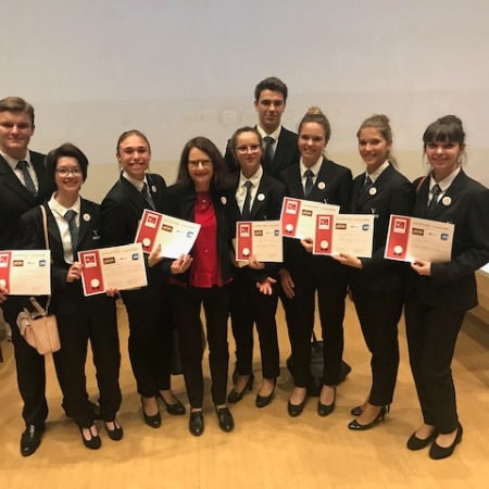 Reporter's competition Nine Vatel students at the top of the short list