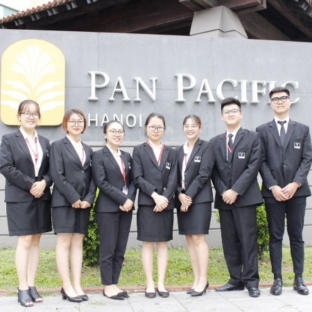 Freshmen of Vatel Hanoi (FTU) take Internship in top 5-star hotels of Vietnam