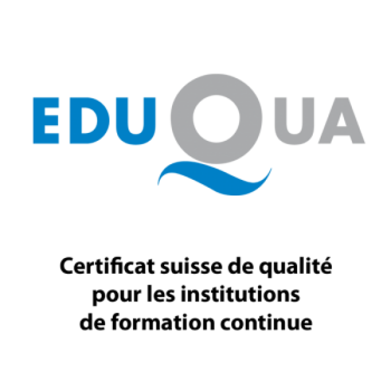 Vatel Switzerland is certified by Eduqua!