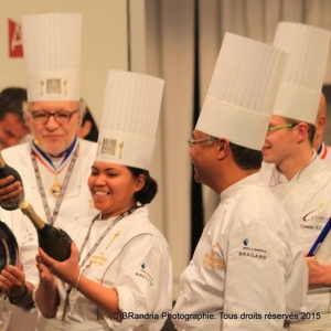 Vatel Madagascar Trophée du plus beau buffet lors de l'International Catering Cup 2015