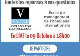 Le 9 octobre : un Live pour tout savoir sur Vatel