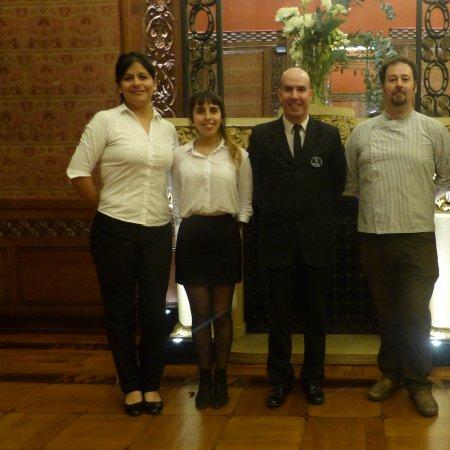 """Vatel Argentina Participación de estudiantes de 1° año en el evento """"Entrega del premio a la sustentabilidad"""" de la CCIFA"""