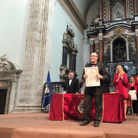 Vatel Madrid El profesor Pío Fernández- investido académico de la A.I.C.T.E.H.