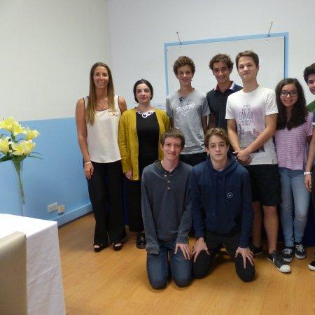 """Vatel Argentina Visita de alumnos y profesores del Liceo Francés """"Jean Mermoz"""""""