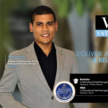 Vatel Mauritius This week Vatel Mauritius celebrates passion, work and success.