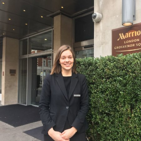 My work as an executive lounge supervisor in the london marriott international - Vatel