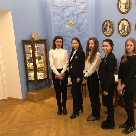 Vatel Россия Посещение Музея истории Казанского университета.