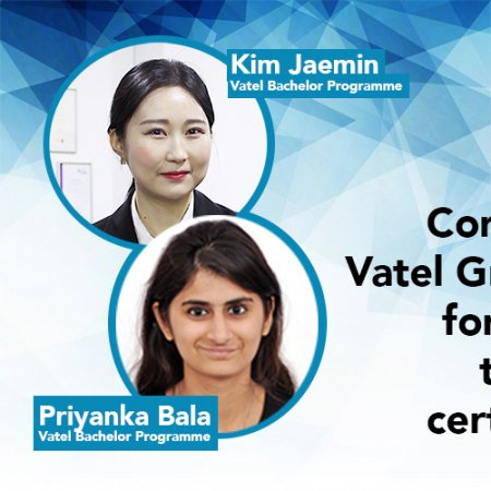 Vatel Singapore Congrats to Vatel graduates who passed the CHIA certification