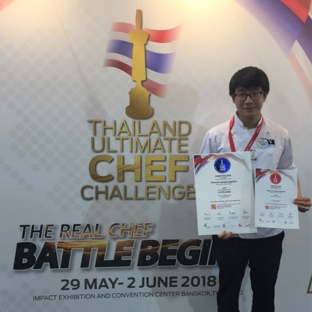Vatel Bangkok Vatel/ SUIC Students win awards at THAIFEX 2018