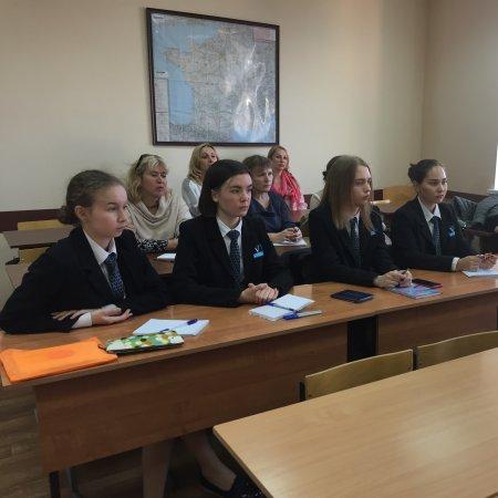 Vatel Россия Встрача с родителями и студентами 1 курса