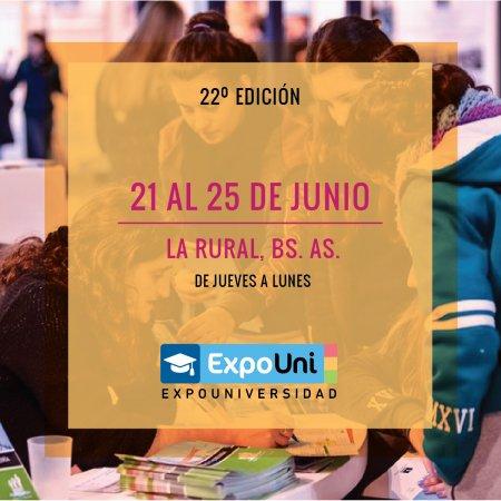 Vatel Argentina ExpoUniversidad 2018 en la Rural