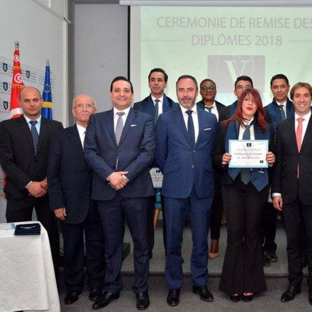 Vatel Tunisie S.E Patrice Bergamini, Ambassadeur de l'Union Européenne Parrain de la Promotion de Vatel Tunis