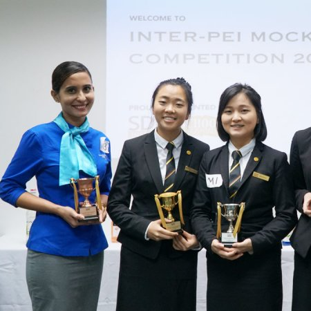 Vatel Singapore Vatel Student Won 4th Placing in Inter-PEI Mocktail Competition 2018