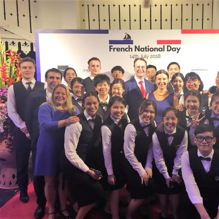 Vatel Bangkok French National Day 2018