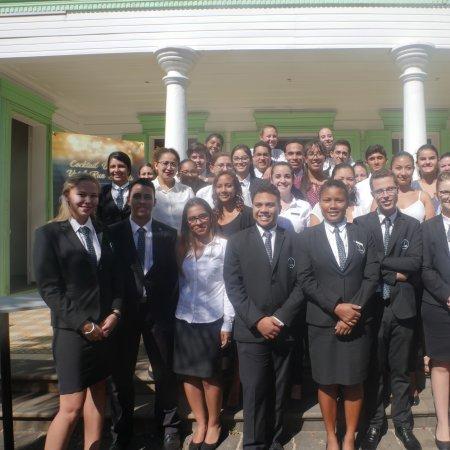 Journée de pré-rentrée pour les nouveaux étudiants de première année Bachelor Vatel Réunion !