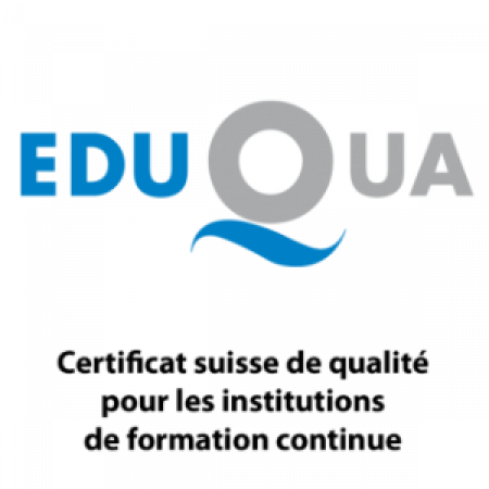 Vatel Switzerland is certified by Eduqua!