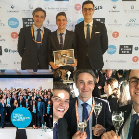 Vatel Switzerland vainqueur du Young Hoteliers Summit