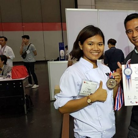 Vatel Bangkok Vatel Thailand Students win medals at TICC 2018