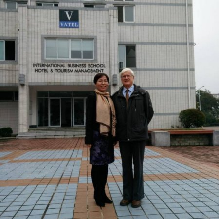 A teacher from Vatel Bordeaux made an intervention to Vatel's students Huangshan