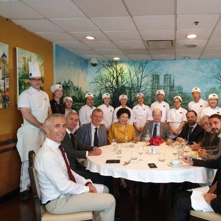 Vatel Bangkok Celebratory Luncheon with the French Ambassador at Vatel Restaurant