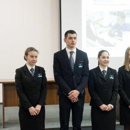 Vatel Россия Посвящение 1 курса в ряды студентов Vatel