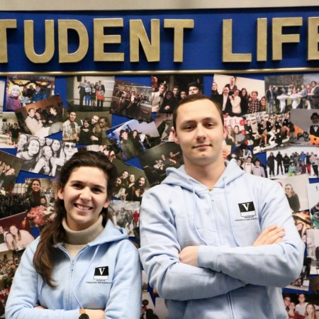 The Student Life Association welcomes a new president