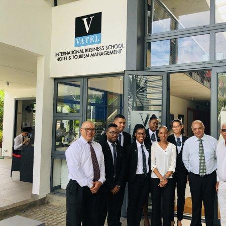 Vatel Mauritius Seychelles Delegation - Courtesy Visit at Vatel Mauritius