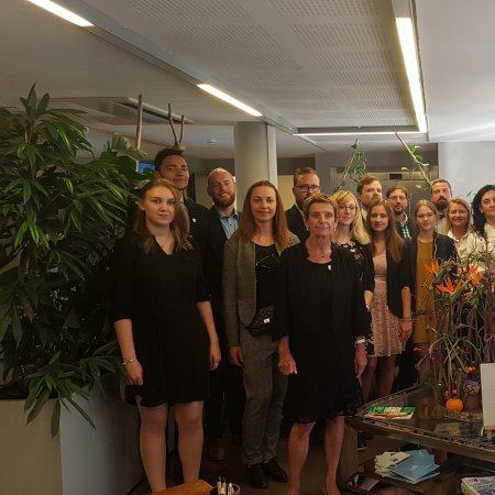 Vatel Bordeaux Impresses Two Students from the School of Hotel Management Pegnitz
