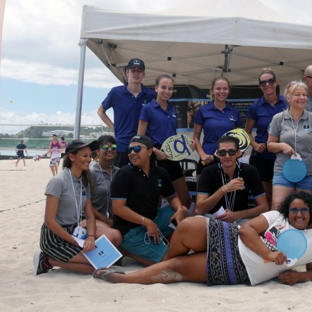 Vatel à l'open international de beach tennis des Brisants : Les étudiants sont de la partie