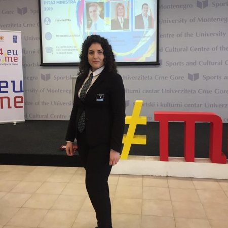 Vatel Montenegro Vatel students participated on ''Ask the Minister!'' forum in Montenegro