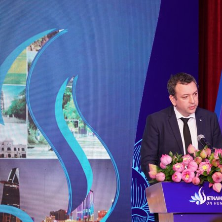 Vatel Việt Nam Vietnam tourism human resource forum 2019 organized by Hoa Sen University